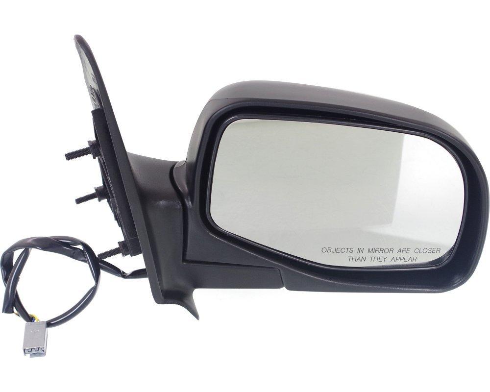 Power Mirror for Ranger 93-05 Right Side Manual Folding Textured Black Kool Vue FD34ER