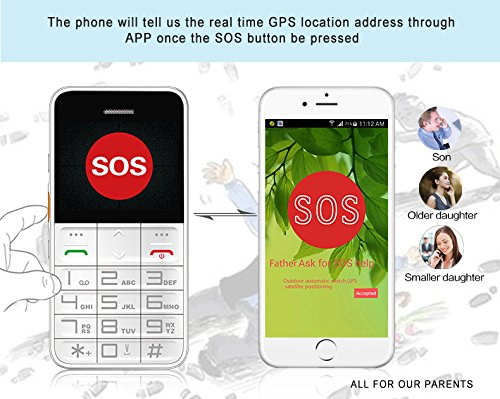 Dtudao GSM Elderly GPS Cell Phone Tracker with SOS,FDA - Import It