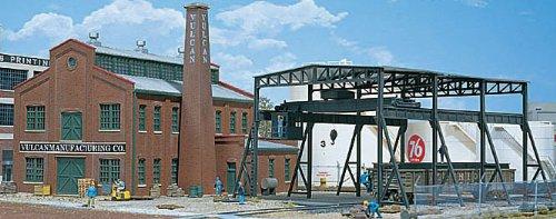 【メーカー再生品】 [ウォルサーズ]Walthers Cornerstone Manufacturing HO Scale Vulcan Cornerstone Manufacturing B00CMK8LCA Company Structure Kit 933-3045 [並行輸入品] B00CMK8LCA, 津屋崎町:679c2fec --- a0267596.xsph.ru