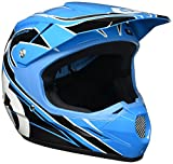 SixSixOne Comp MX Helmet (Cyan/Black, Medium)