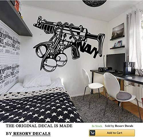 Cheap  Resorv Decals Wall Decal Sticker Bedroom Soldier Warrior Fighter War Military Army..