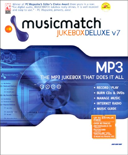 Amazon. Com: musicmatch jukebox 7. 0 deluxe: software.