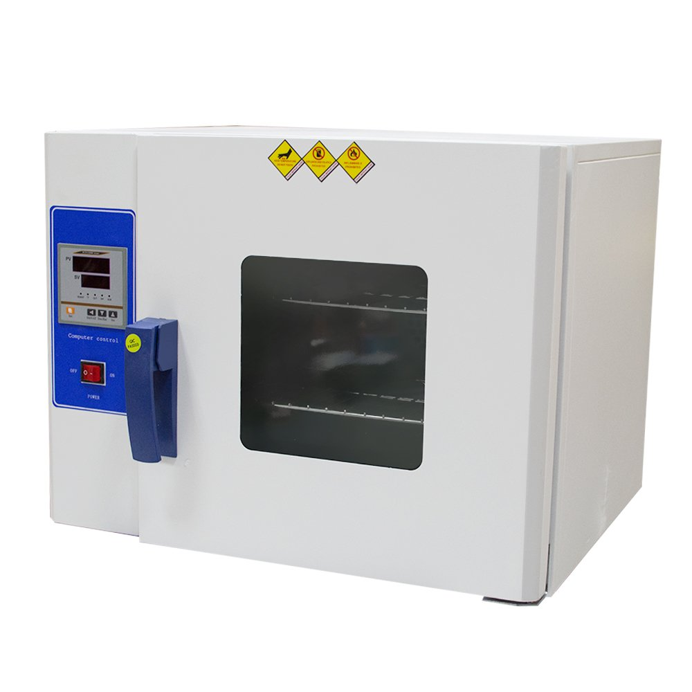 Digital Drying Oven Laboratory, Lolicute Constant Temperature Blast Dryer, Industrial Drying Cabinet Electric Heating Drying Oven Lab Temperature Control 110V by Lolicute