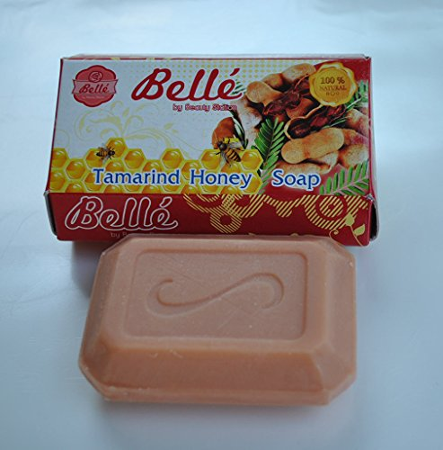 New-Tamarind-Honey-Herbal-Soap-Bar-Belle-Whitening-Antioxidants-Moisturizing-for-All-Skin-Types-Pack-of-3
