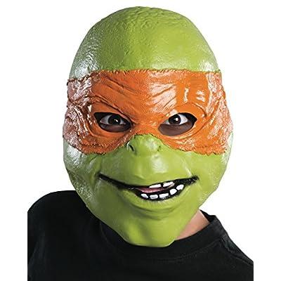 Rubies Teenage Mutant Ninja Turtles Movie Michelangelo Child 3/4 Mask: Toys & Games