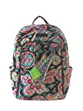 Vera Bradley Laptop Backpack (Parisian Paisley)