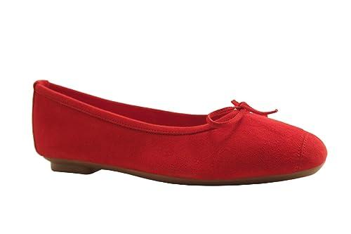 ballerine rouge