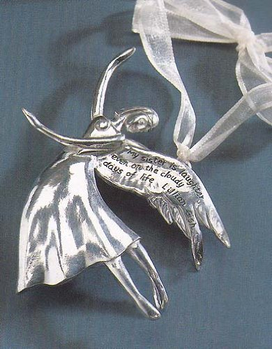 Serenity Angels Pewter Ornament Sister ()