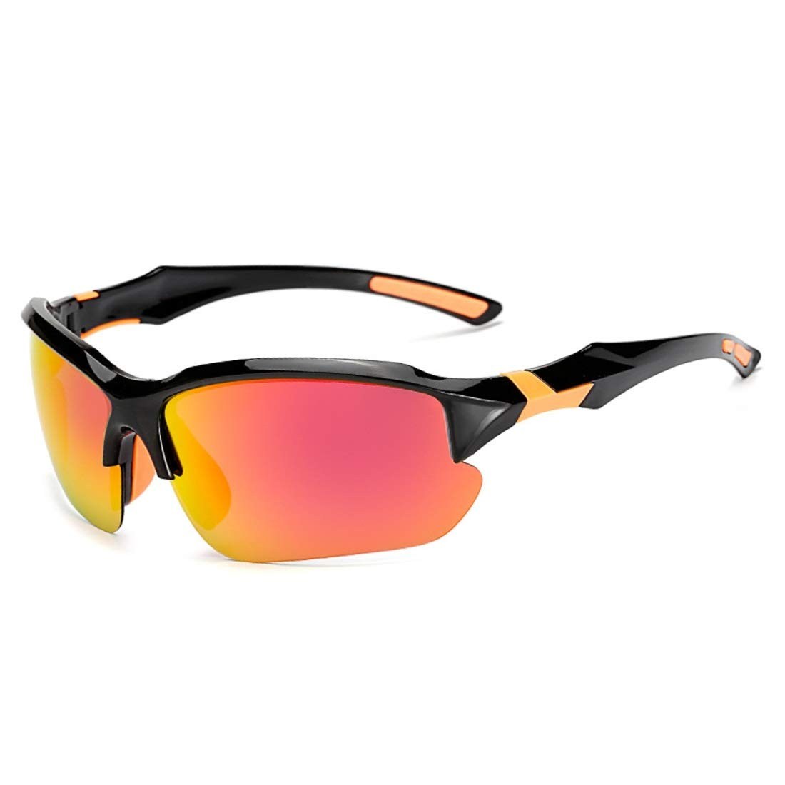 BAOYIT Riding Glasses Polarized Night Vision Fishing Mountaineering Running Sports Glasses Men and Women (Color : Yellow) by BAOYIT