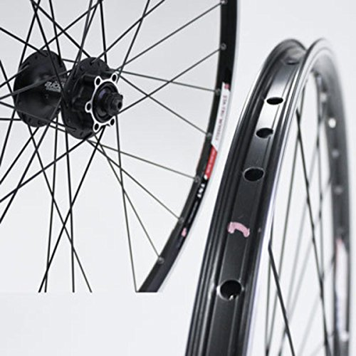 Sta Tru Black Shimano Deore 6-Bolt Disc Hub Front Wheel ()