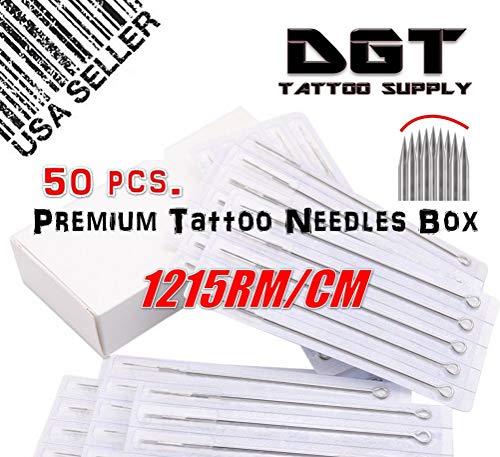 DGT Premium Tattoo Needles (Curve Mag) (15RM)