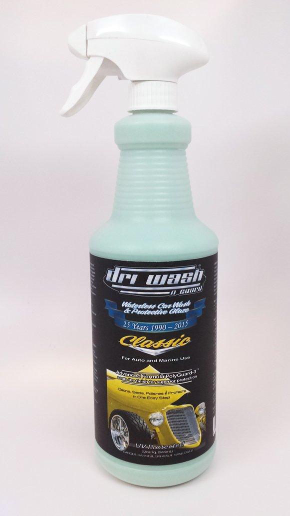 Dri Wash 'n Guard 32oz Classic Waterless Car Wash (w/Trigger Sprayer)