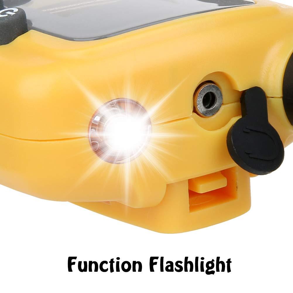 joyoldelf Walkie Talkie Ni/ños y Prismaticos Ni/ños PMR446 8 Canales LED Linterna Incorporada LCD Pantalla Funci/ón VOX Juguete de Camping al Aire Libre Ni/ños y Ni/ñas