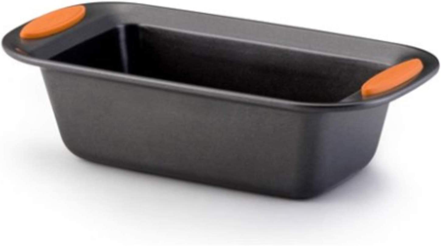 54079 Yum-O Nonstick Bakeware Loaf Pan, 9 Inch x 5 Inch, Orange (Pack of 2)