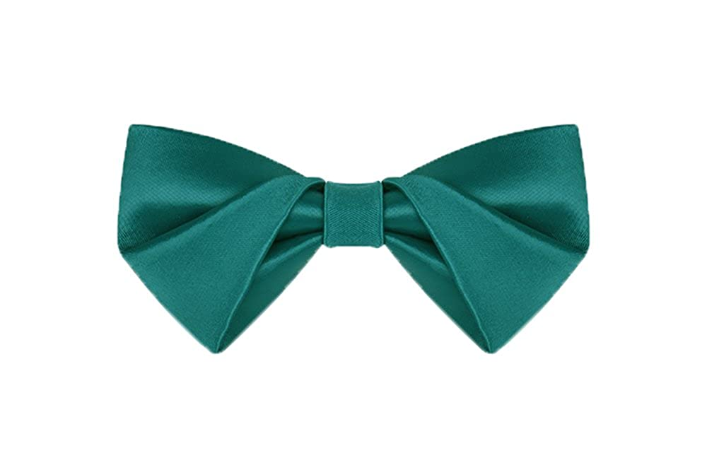 Wsysnl Hole Blue Silk Hand Made Bow Tie
