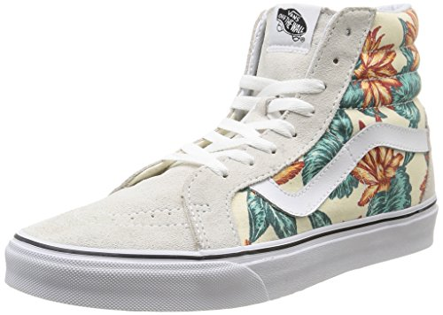 Vans U Sk8-Hi Reissue Vintage Aloha - Zapatillas bajas unisex Vintage Aloha/Classic White/True White