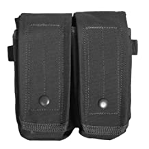 Fox Outdoor Products Rip-Away AR-15/AK 47 Dual Mag Pouch Black