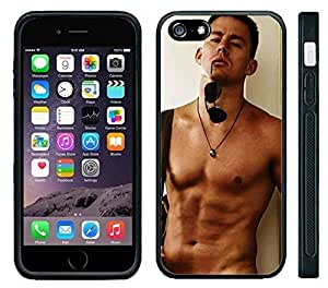 Pink Ladoo? Apple iPhone 6 Black Case - Channing Tatum No Shirt Sexy Hot Abs Body