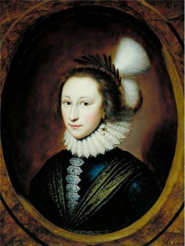 Oil Painting 'Cornelis Janssens Van Ceulen-Portrait Of Susanna Temple,Later Lady Lister,1620' 20 x 27 inch / 51 x 67 cm , on High Definition HD canvas prints, Garage, Home Theater - Area Detroit Eyeglasses