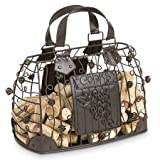Epic Products Cork Cage Hand Bag, 10-Inch