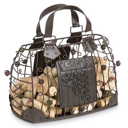 (Epic Products Cork Cage Hand Bag, 10-Inch )
