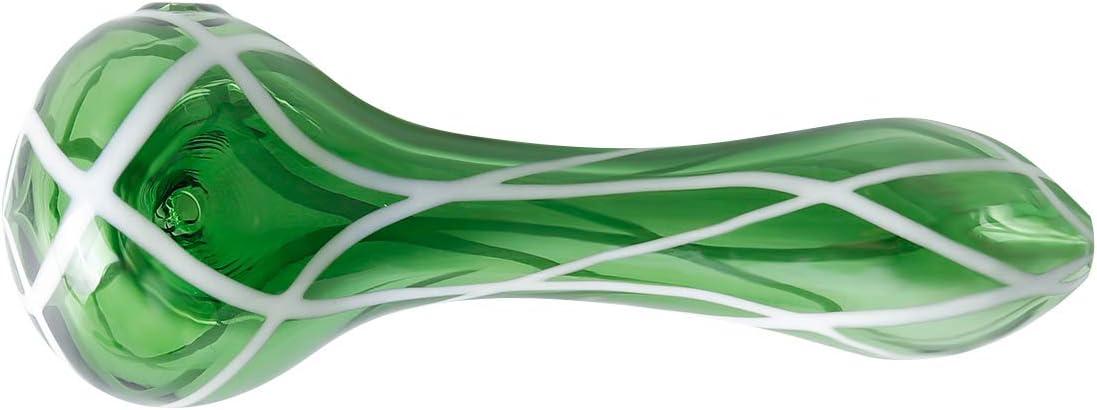 New 4.4 Inch Glass Art Newest Glassworks Handmade Style Glass Green