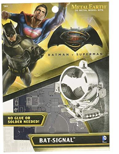 (Fascinations Metal Earth Batman v Superman Bat Signal 3D Metal Model Kit)