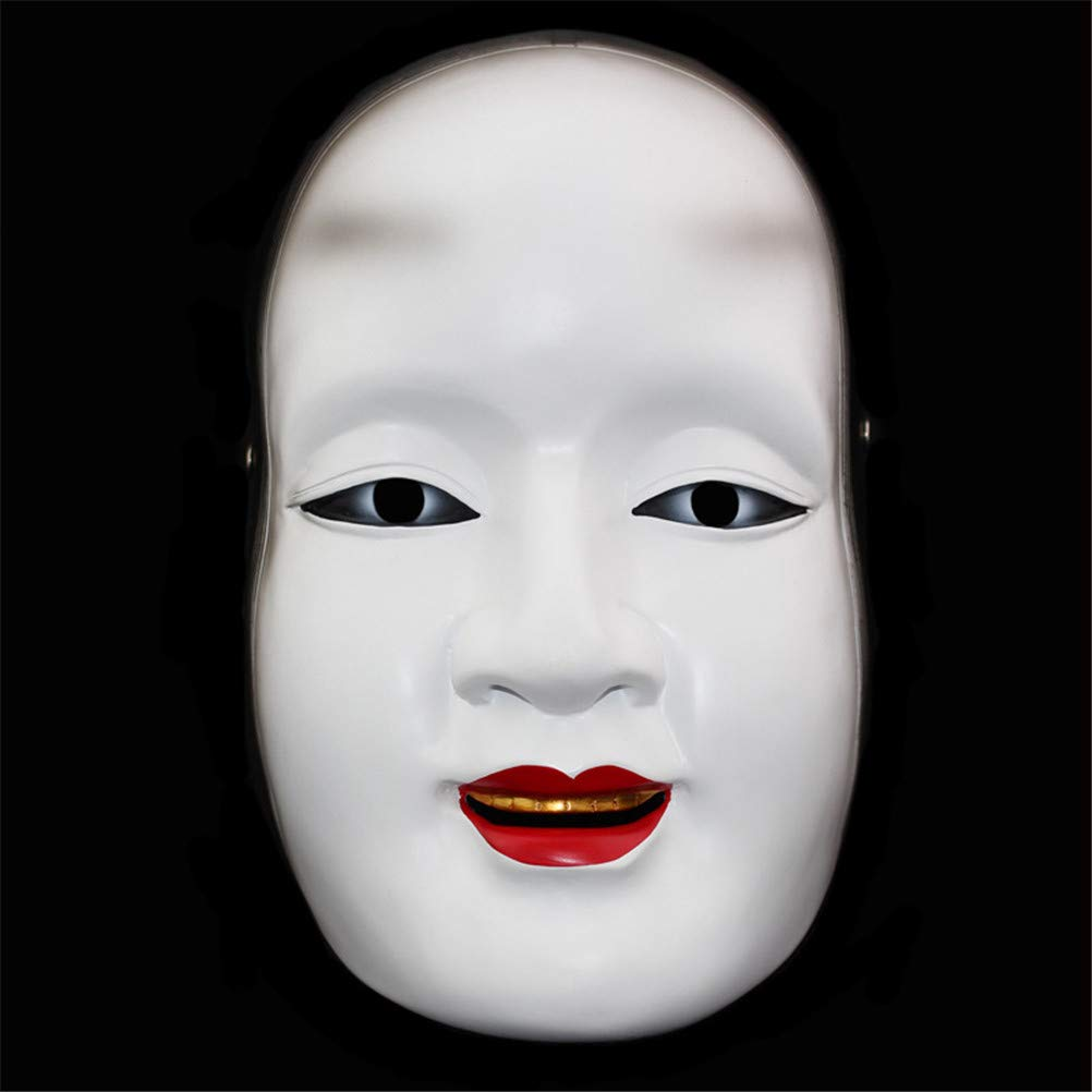TTXST Halloween Mask Resin mask Theatrical Masks Japanese NOH Masks Sun Jilang Masks Prajna Masks Props Masks