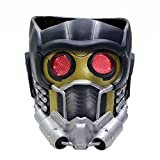 Newest Guardians Star Cosplay Lord Mask Light Up Lifesize V6.2 Painted PVC Helmet Adults