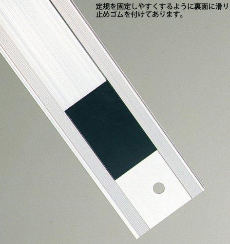 Amazon.co.jp: アルミカッター定規 カット師 60cm併用目盛 65086 定規 カッター定規 ステン鋼 シンワ測定:  DIY・工具・ガーデン