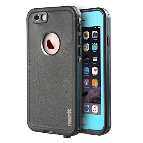 Waterproof case for iPhone 6 Plus/iPhone 6s Plus, Merit Air Series IP68 Certified Waterproof...
