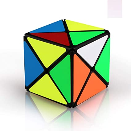 Adeeing Unique Smooth Magic Cube Kids Early Learning Puzzles Toy