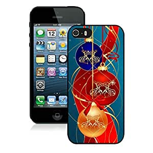 New Design Iphone 5S Protective Case Merry Christmas iPhone 5 5S TPU Case 37 Black