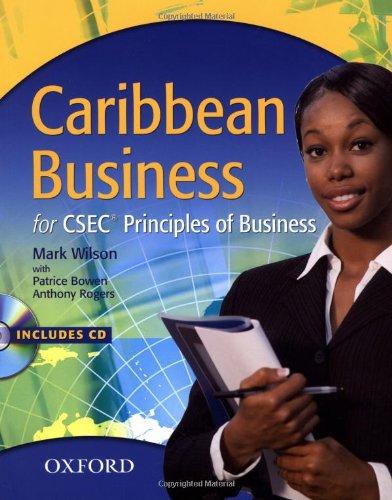 Download Caribbean Business for CSEC Principles of Business PDF