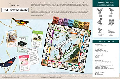 MasterPieces Audubon Bird Spotting Opoly Game