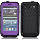 Generic Carrying Case for Samsung Galaxy S3 - Non-Retail Packaging - Purple