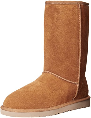 Chestnut Brown Boots - Koolaburra by UGG Women's Chestnut Koola Tall Boot - 07 M US