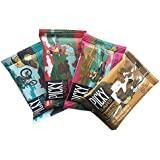 Picky Bars Real Food Energy Bars, 4 Bar Variety Pack, 1.6oz (Pack of 4)