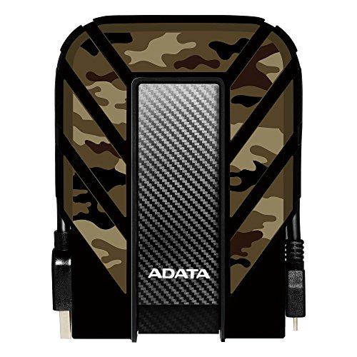 ADATA HD710M Pro 2 TB USB 3.1 Rugged Waterproof/Dustproof/Shockproof External Hard Drive, Camouflage (AHD710MP-2TU31-CCF) ()