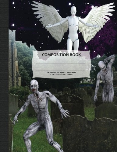 Zombie Apocalypse Composition Notebook, College Ruled: 100 sheets / 200 pages, 9-3/4