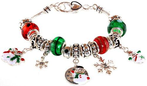 Charm Beaded Snowman (Lova Jewelry