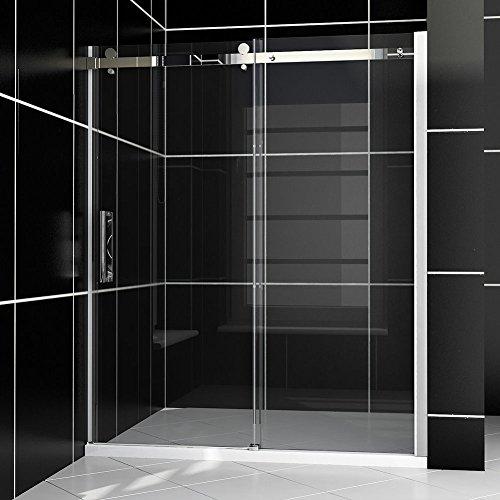 SUNNY SHOWER Model# B038, Sliding Shower Doors, 56