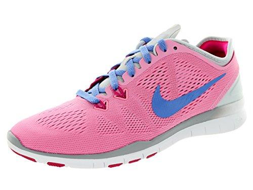Nike Women's Free 5.0 TR Fit 5 Rose/Polar/PR Platinum/Frbrry Training Shoe 6 Women - Rose Pr