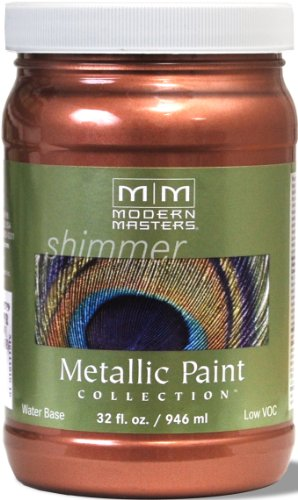 Modern Masters ME195-32 Metallic Copper, 32-Ounce (Copper Exterior Paint)