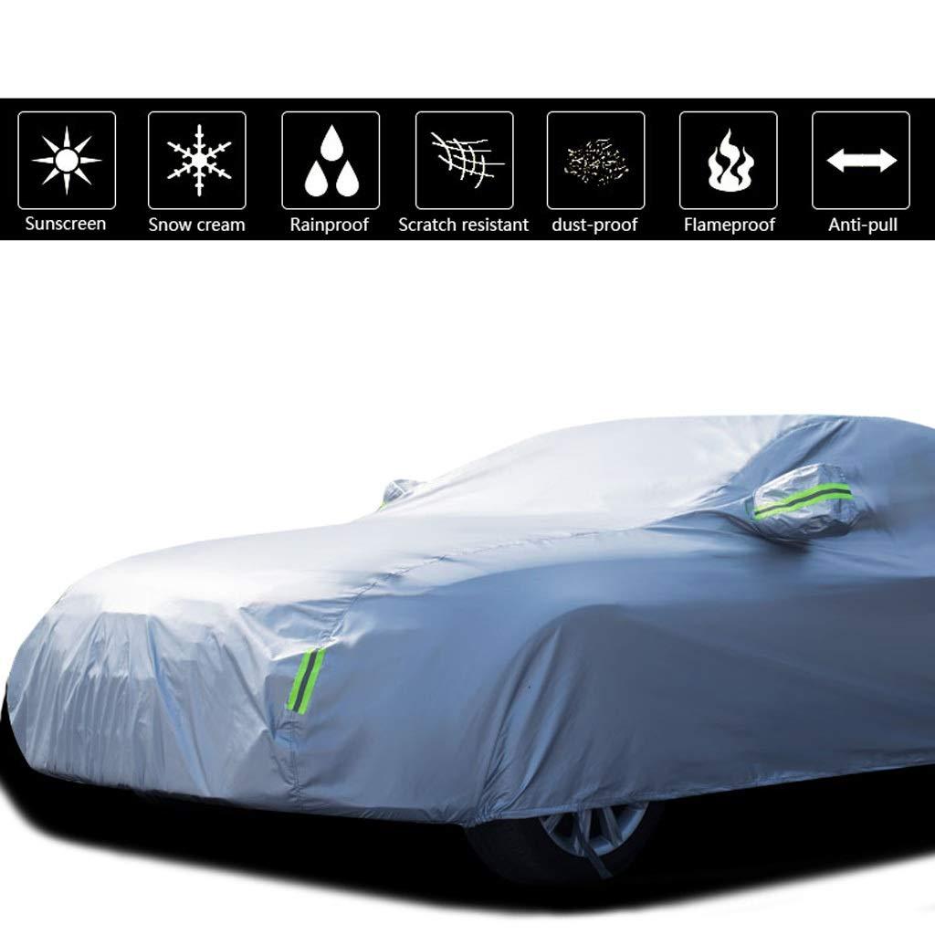 Couverture de voiture Compatible avec la b/âche de protection pour voiture Volkswagen Scirocco Protection solaire Protection anti-pluie anti-poussi/ère /Épaississement Isolation Tissu Oxford Couverture d