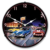 Cheap Bruce Kaiser Woodward Avenue Lighted Wall Clock