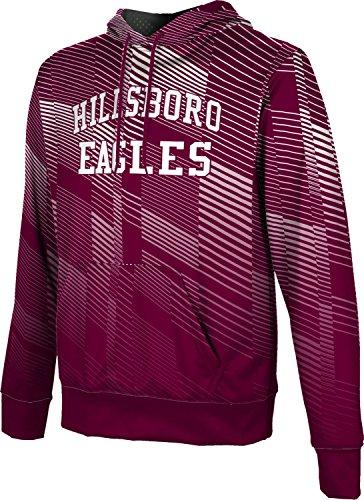 ProSphere Men's Hillsboro High School Bold Hoodie Sweatshirt (Apparel) - 76645 Tx Hillsboro
