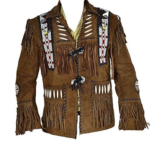 Celebrita X Cowboy Western Leather Jacke - Beaded Suede Jacket Shopping Results