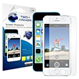 Tech Armor Apple iPhone 5S / iPhone 5C / iPhone 5 Premium Anti-Glare & Anti-Fingerprint (Matte) Screen Protector with Lifetime Replacement Warranty [3-Pack] - Retail Packaging