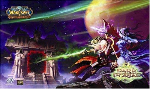 World of Warcraft WoW Trading Card Game Dark Portal Playmat